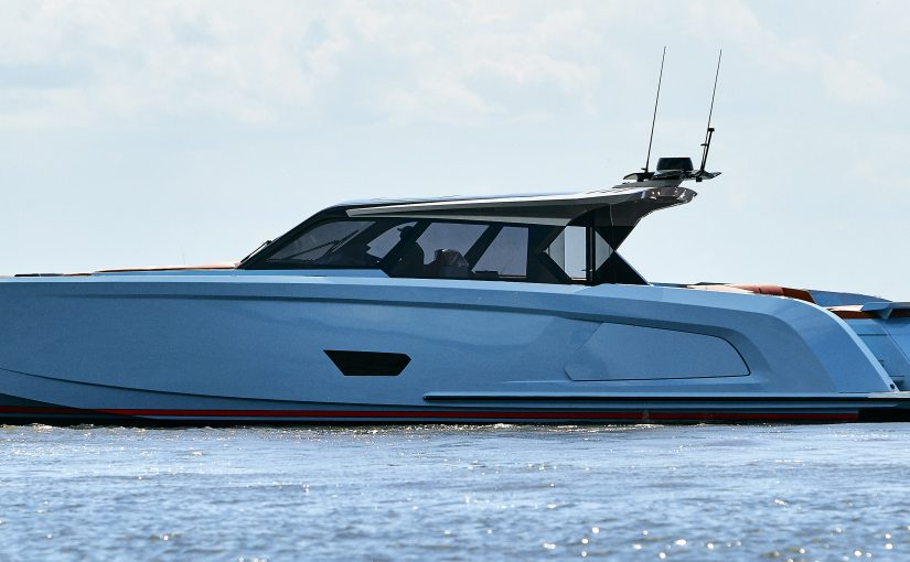 Rejäl dagtursbåt i aluminium