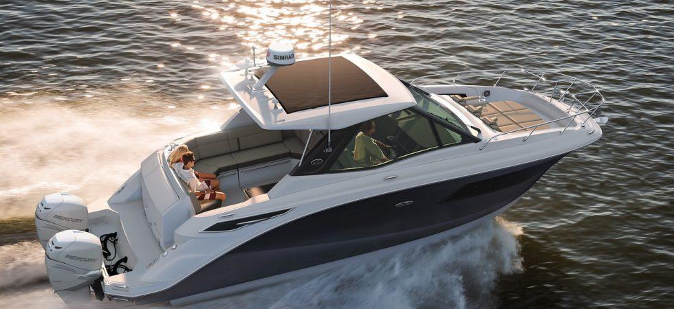 10 m coupébåt från Sea Ray
