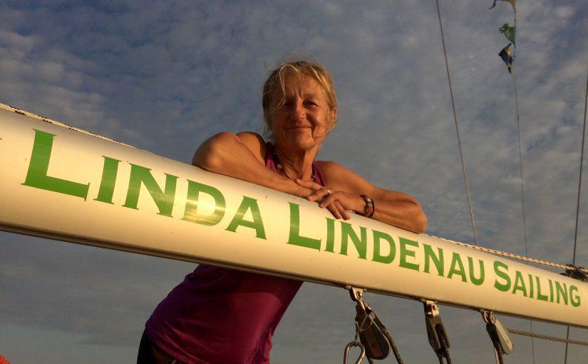 Linda Lindenau slutför segling jorden runt