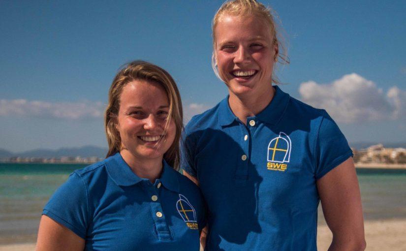 Bra svenskstart på VM för 49erFX