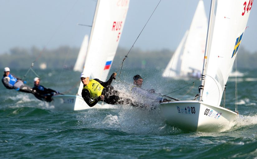 Anton och Fredrik leder i Miami