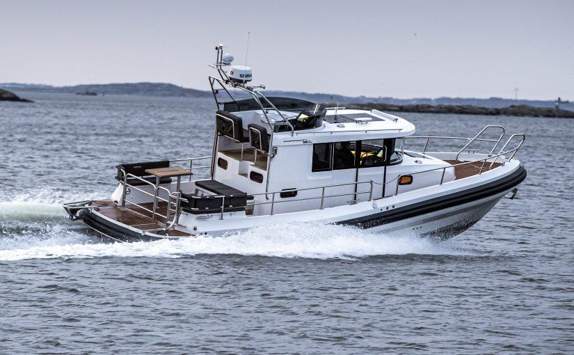 Paragon 31 Flybridge – ultimat båt för alla väder