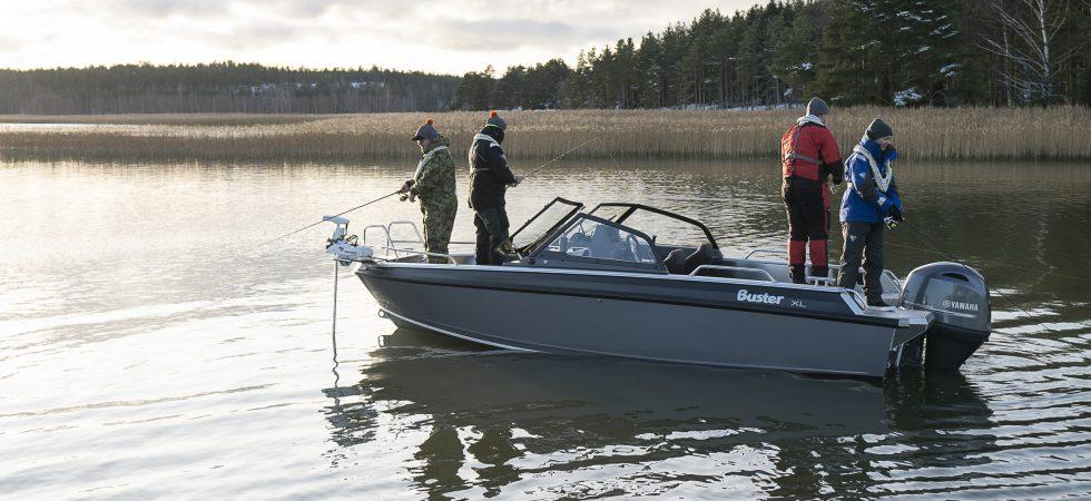 Fiskeversioner av nya Buster XL och XXL
