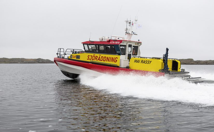 Nästa generations sjöräddningsbåt på Båtmässan i Göteborg