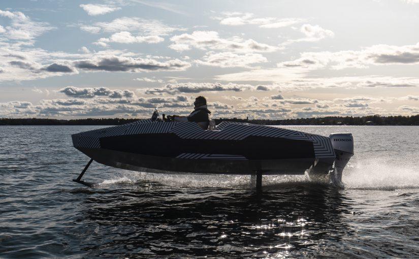 Världspremiär för ny elbåt i Göteborg