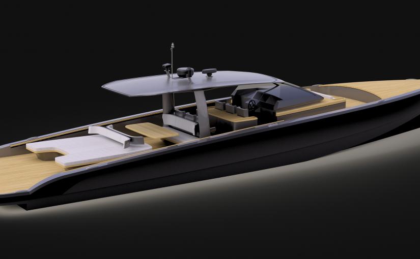 60 fots chaseboat från Windy blir nytt flaggskepp