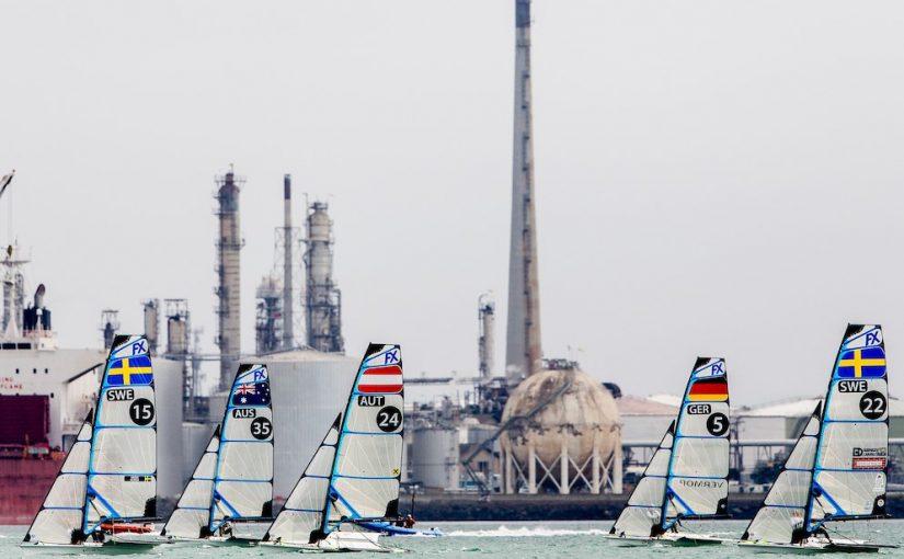 Fyra VM för seglare igång