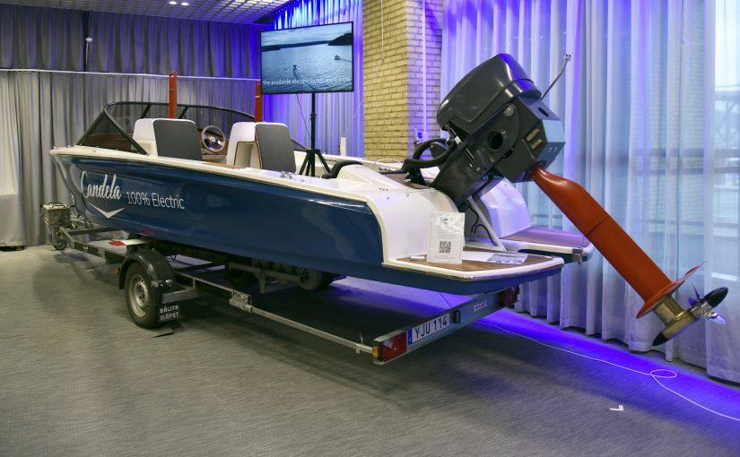 Framtidens elbåtar på Båtmässan i Göteborg