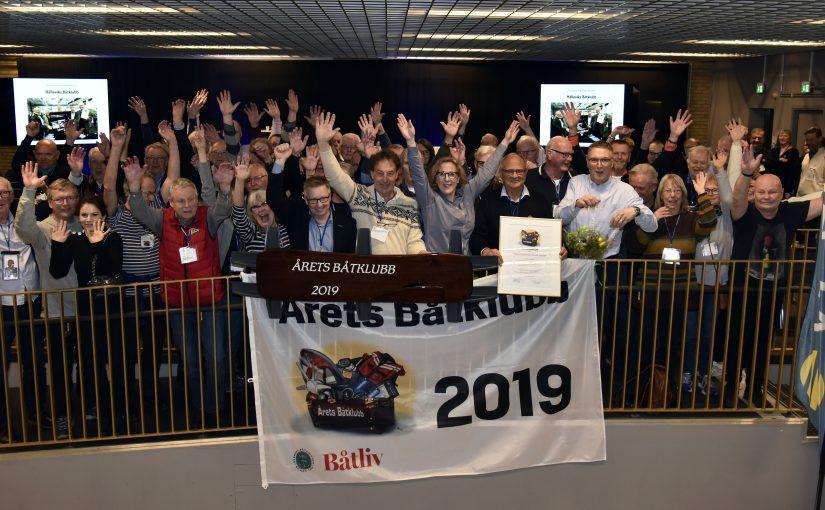 Årets Båtklubb prisad på Båtmässan i Göteborg
