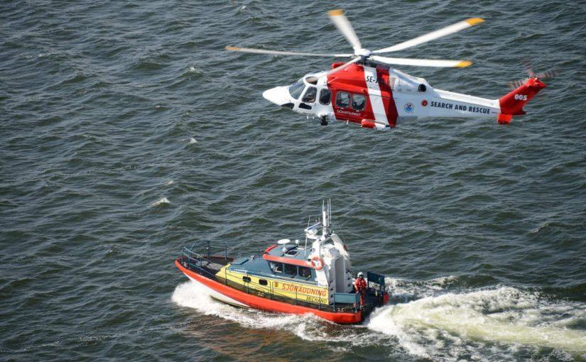 Antalet sjöräddningsinsatser sjönk under 2019