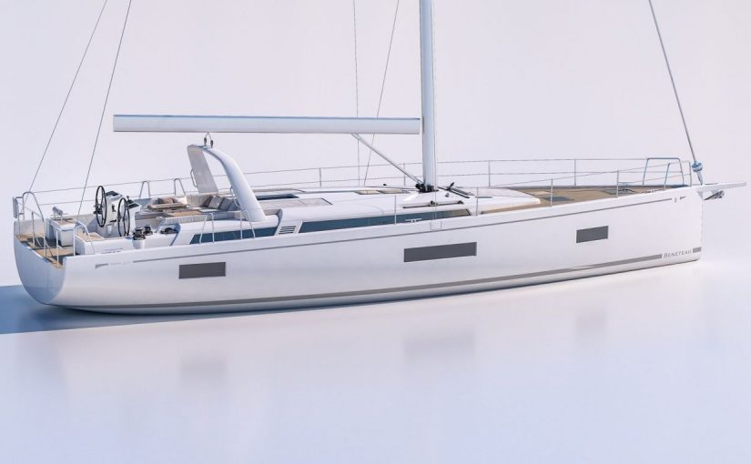Beneteau visar ny och lätthanterad 54-fotare