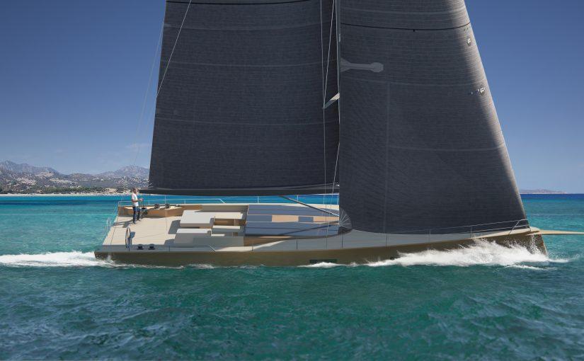 Café Racer med attityd från Baltic Yachts