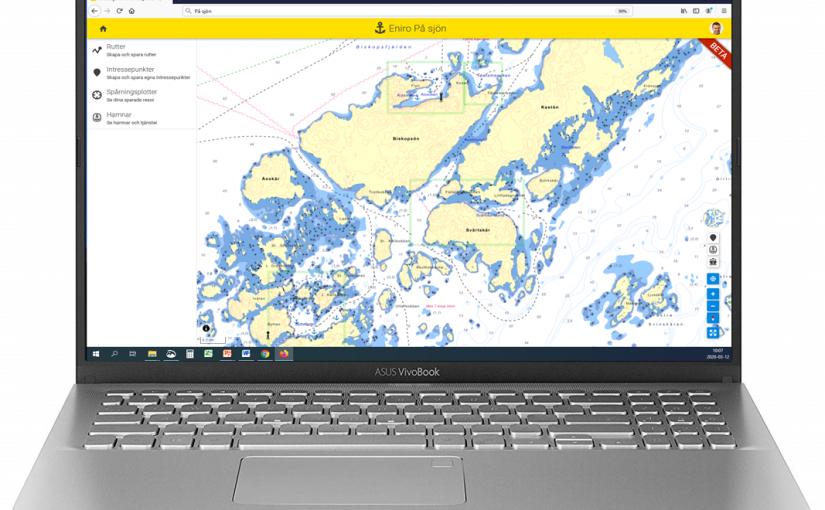 Eniro På sjön introducerar autoruttning och webbversion
