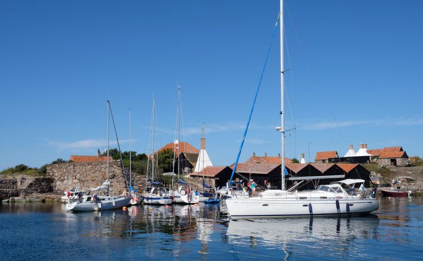 Stopp för att segla in i Danmark med fritidsbåt