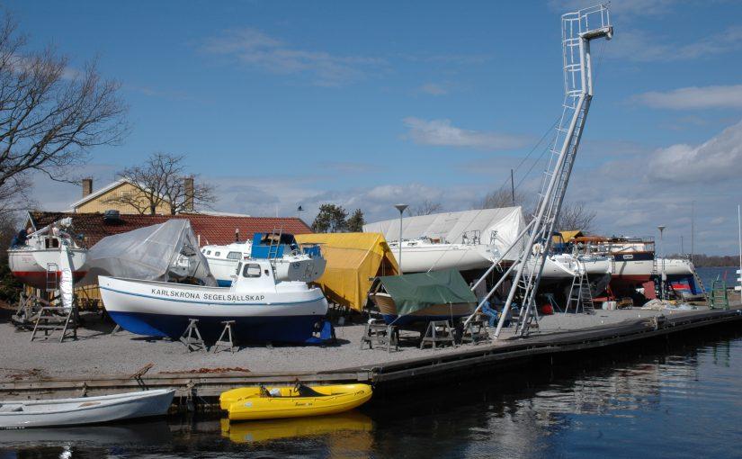 Tidig start med båtjobbet underlättar för alla