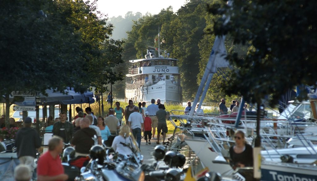 Säsongens kryssningar med Juno, Diana och Wilhelm Tham på Göta kanal ställs in