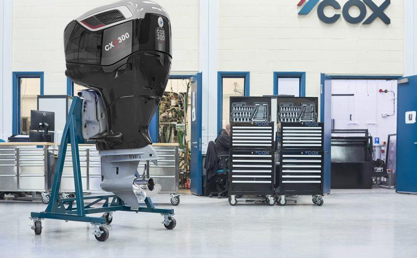 COX dieselutombordare på 300 hk nu i serieproduktion