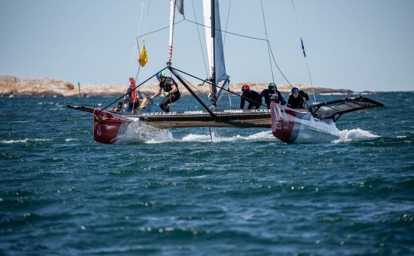 Match Cup Marstrand seglas längre ut på havet