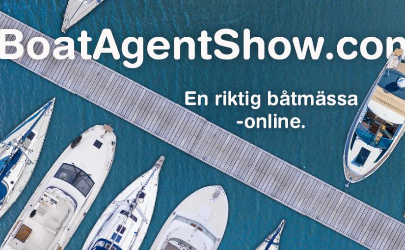 Båtagent lanserar båtmässa online