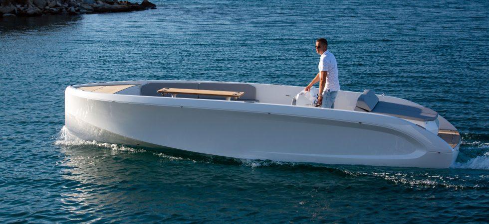 Glidare med lång räckvidd från Rand Boats