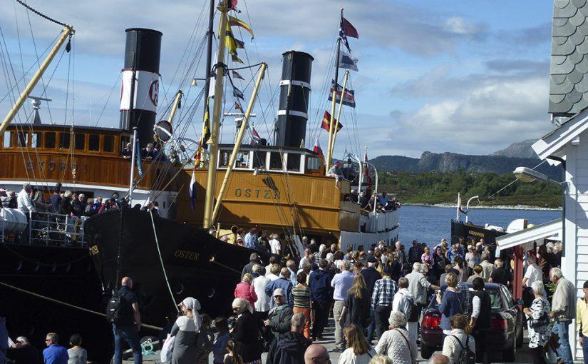 Viktigt volontärarbete med äldre fartyg