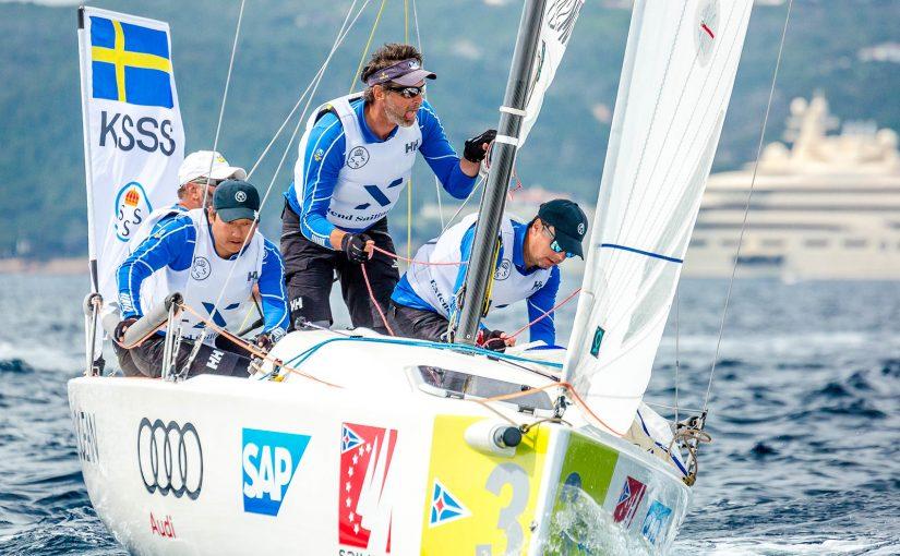 Tre svenska besättningar i Sailing Champions League-final