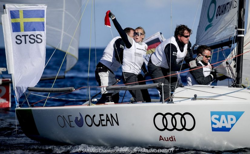 Tung svensk Sailing Champions League-final