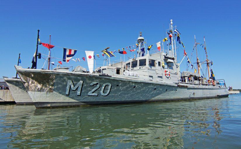Räddningen av museifartyget M 20 påbörjad