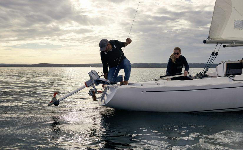 Breddat utbud av elmotorer för båtar