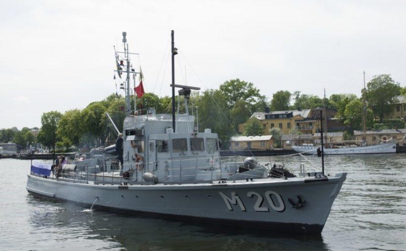 Marinhistorisk artikelserie – M 20 genom historien