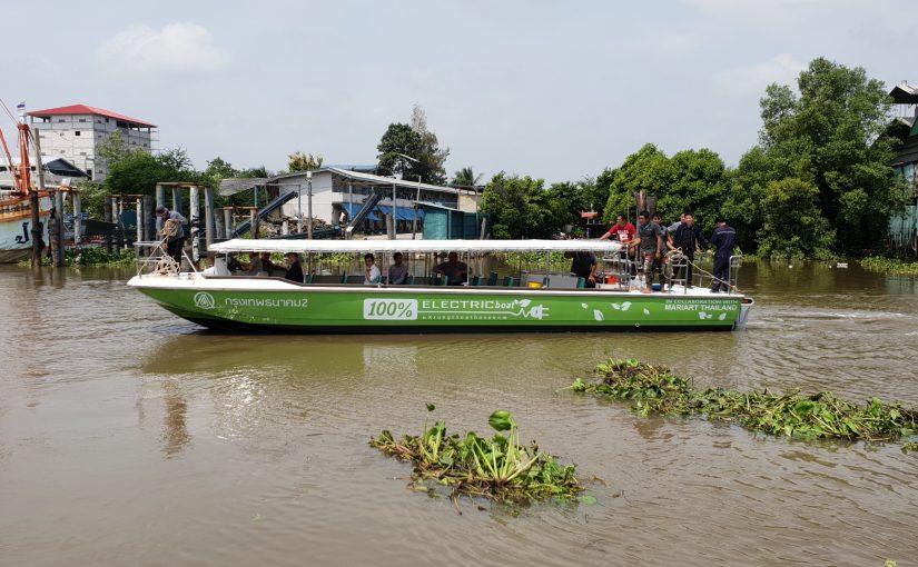 Klart för Thailands första elektriska passagerarbåtsflotta
