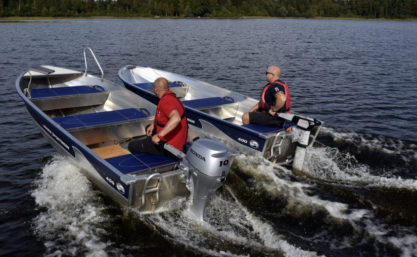 Båtliv provar el mot bensin –Billiga i drift, men kort räckvidd