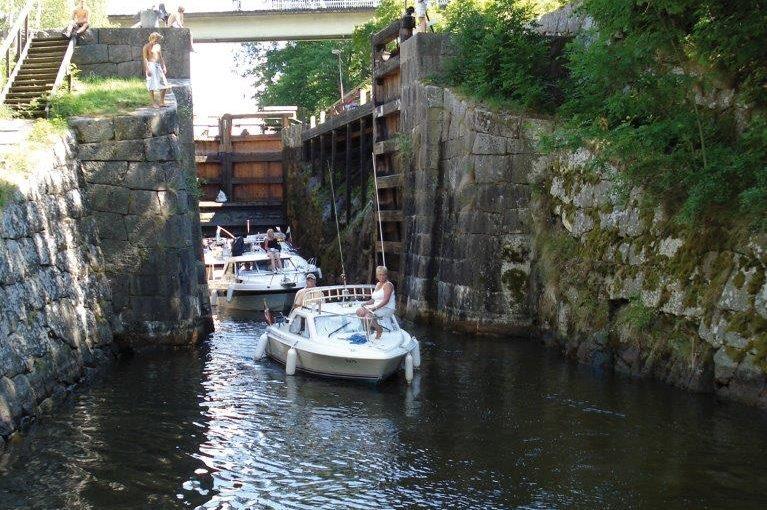 Kinda kanal firar 150 år