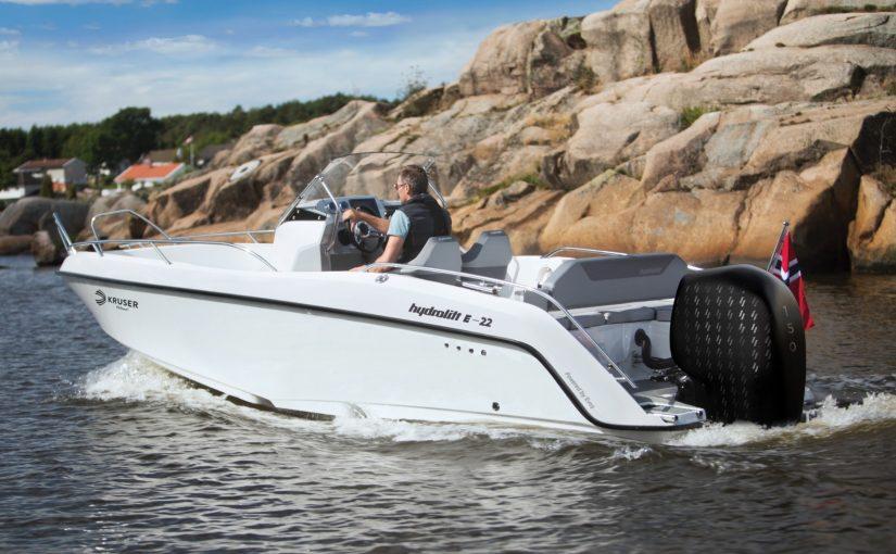 Snabbgående elbåt får premiär i norsk båtpool