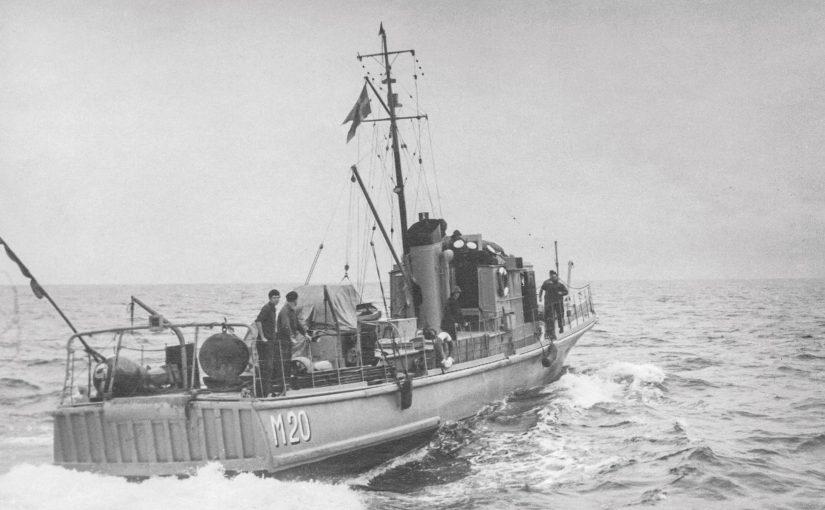 Marinhistorisk artikelserie – artikel 4: Återblick från kapten Harry Månsson