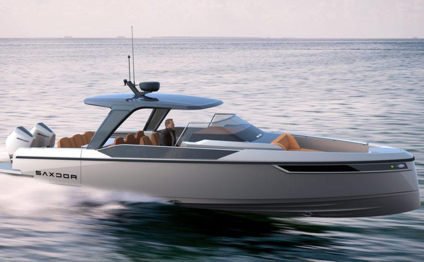 Andra nya modellen från Saxdor Yachts
