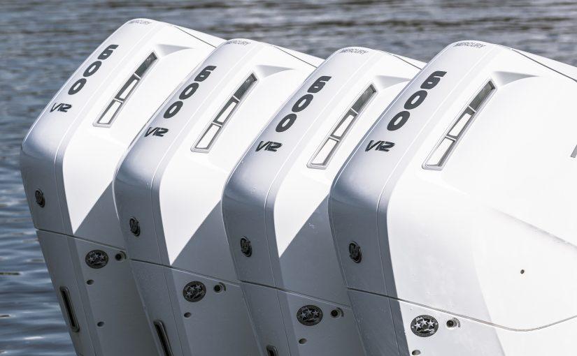 Mercury lanserar Verado V12 på 600 hk