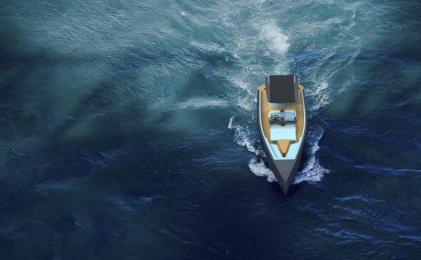 Elbåt med noll miljöpåverkan