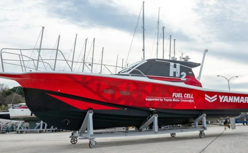 Yanmar testar marina vätebränsleceller