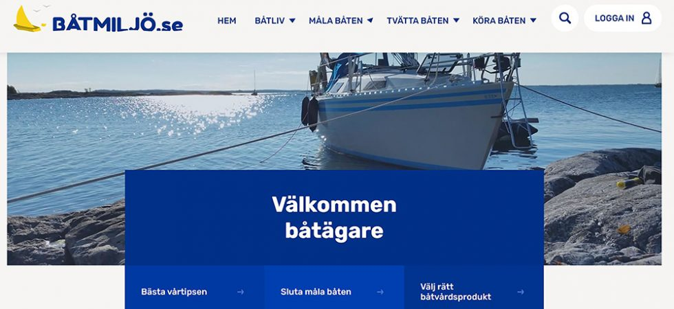 Båtmiljö.se – sajten för ett mer hållbart båtliv