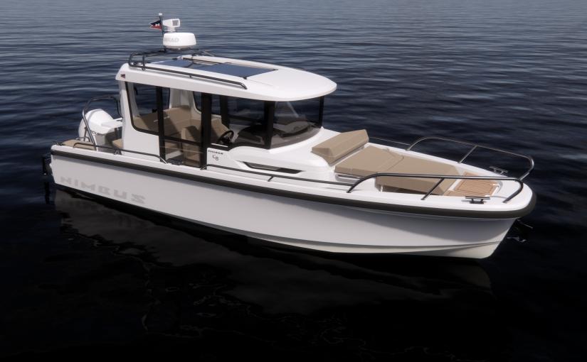Kompletterar med ny kabinbåt – Nimbus C8