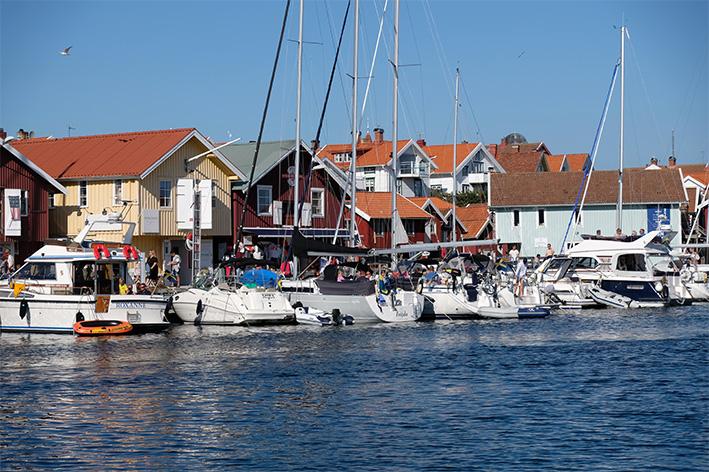 Färre båtar i gästhamnarna 2020
