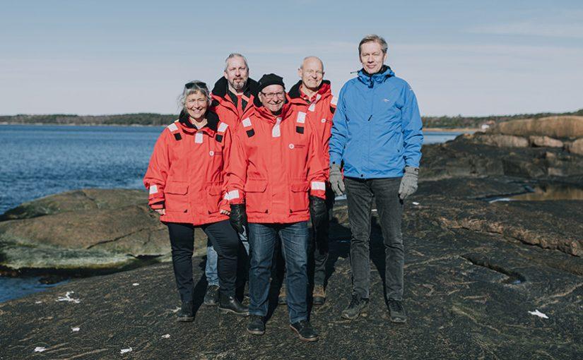 Årets Sjöräddare kommer från Grötvik