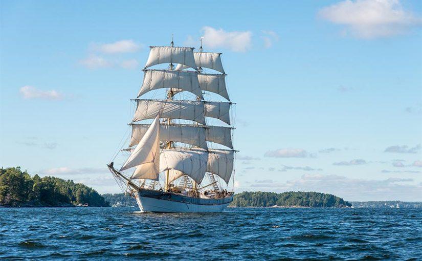 Briggen Tre Kronor af Stockholm snart redo att segla igen