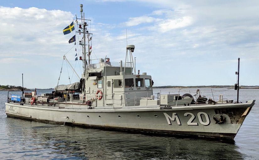 Museifartyget M 20 går till sjöss efter insamling och reparationer