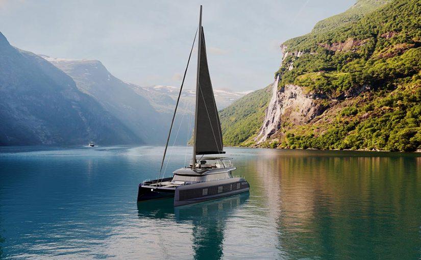 Inbyggda solceller i morgondagens båt