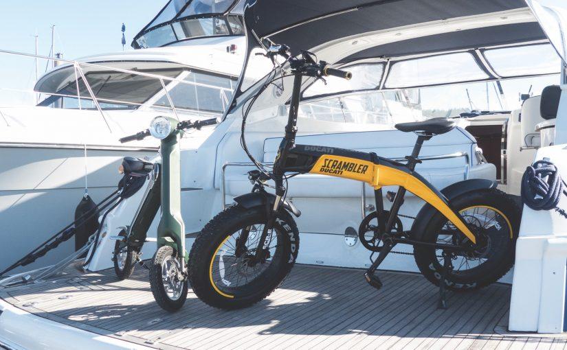 Eldrivna äventyr i sommar med Maxibianca och Srambler-Ducati