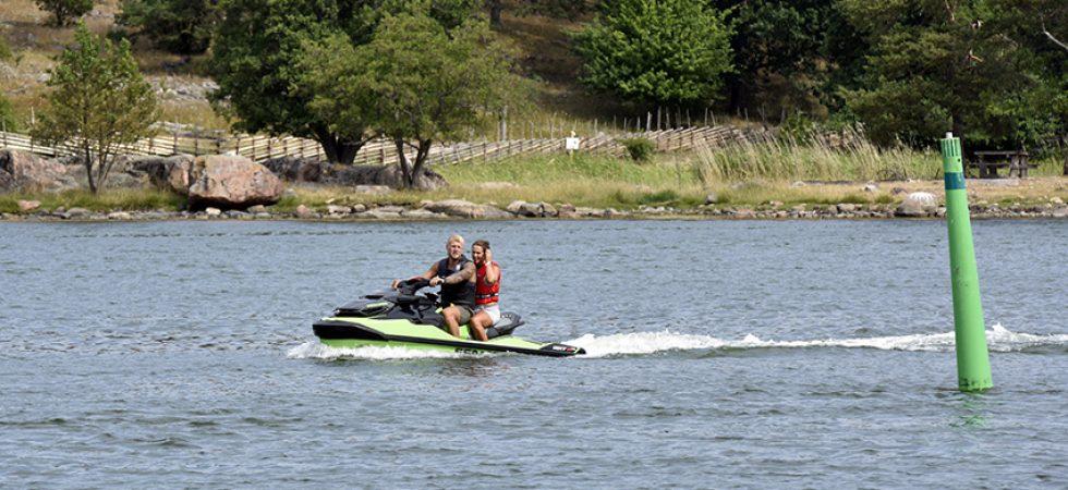 Flest utbildade vattenskoterförare i Norrland och Dalarna